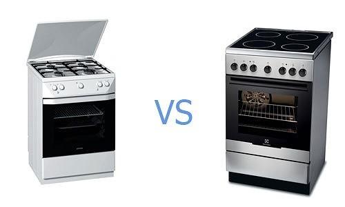 Выбор газовой или электрической плиты