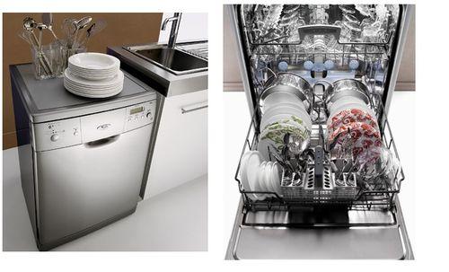 Узкие отдельностоящие посудомойки