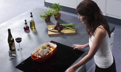 Варочная панель в кухне