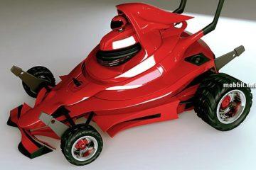Газонокосилка в стиле Формула 1