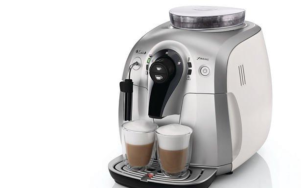 Самая маленькая кофемашина