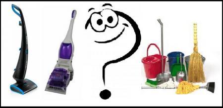 Выбор инструмента уборки