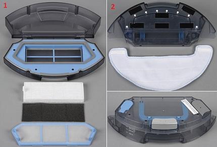 robot-pulesos-polaris-pvc-0726w контейнеры